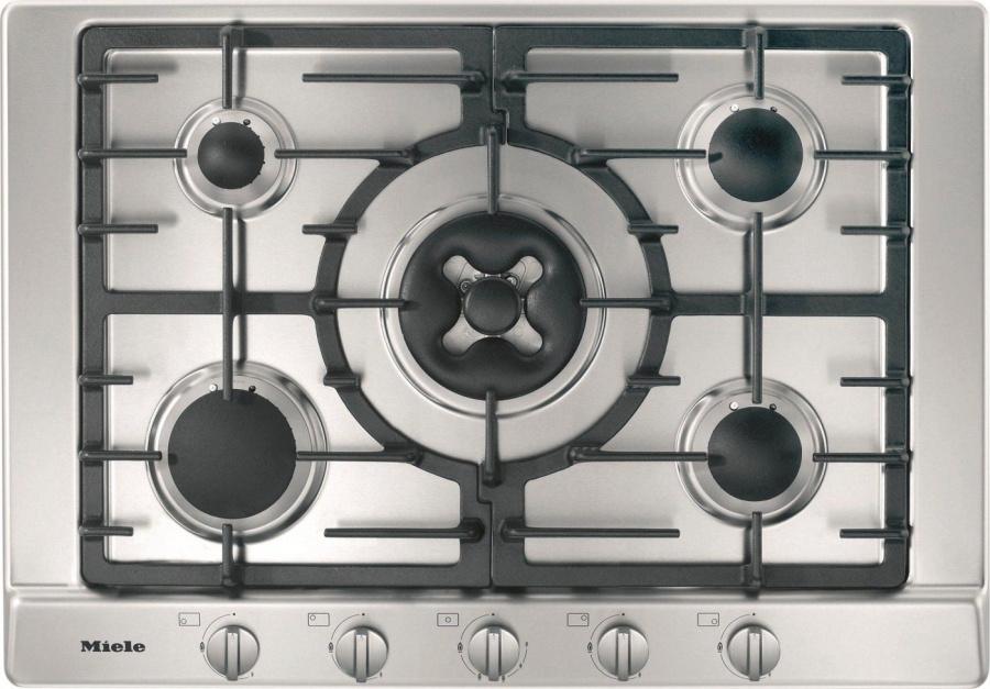 Газовая панель конфорок KM2034 сталь