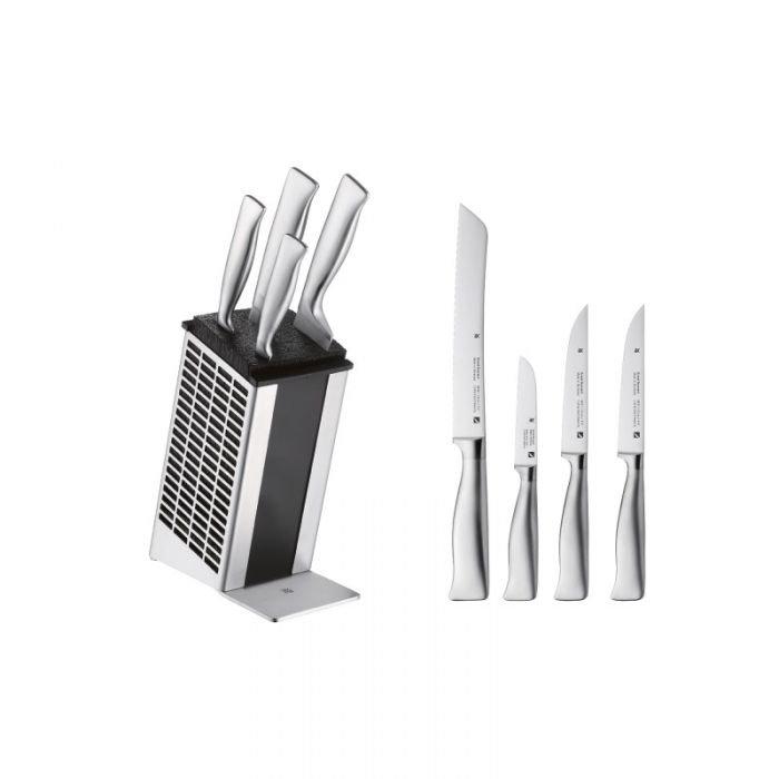 Набор ножей 4 предмета с подставкой Grand Gourmet