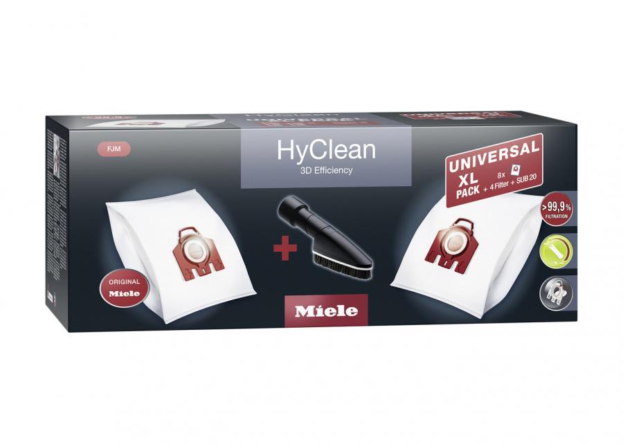 Комплект мешков-пылесборников Universal XL pack HyClean 3D FJM