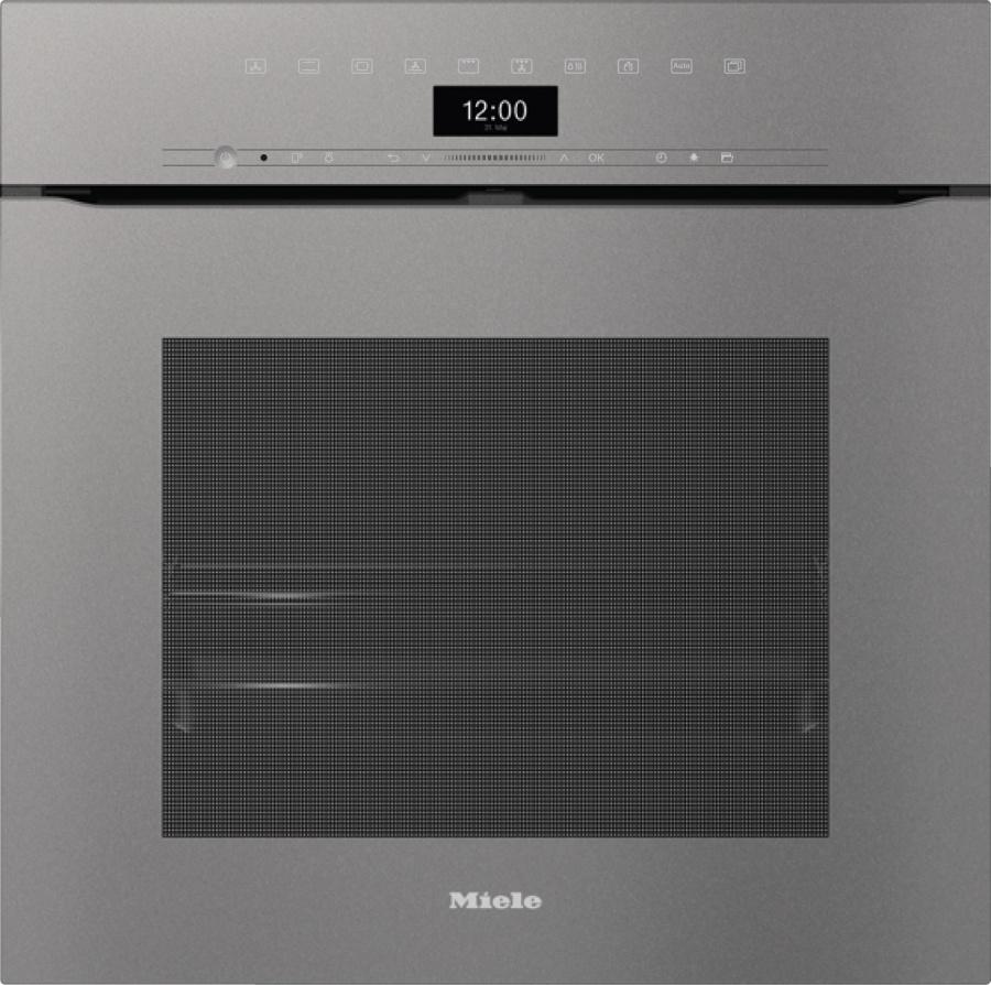 Духовой шкаф  H7464BPX GRGR графитовый серый
