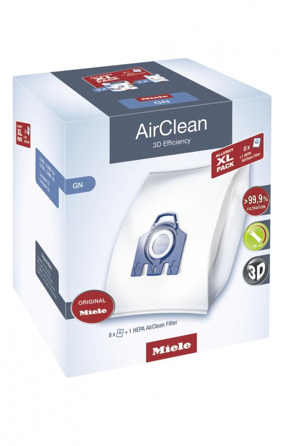 Комплект мешков пылесбор.Allergy XL Pack 2 HyClean GN + фильтр HA50