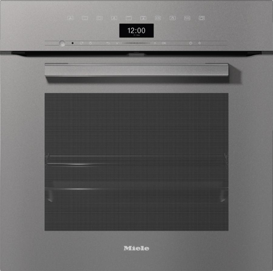 Духовой шкаф H7464BP GRGR графитовый серый