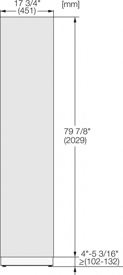 Фронтальная панель KFP 1805 ed/cs