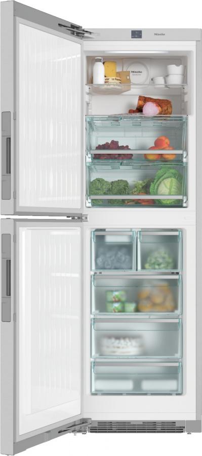 Холодильно-морозильная комбинация KFNS28463E ed/cs сталь CleanSteel