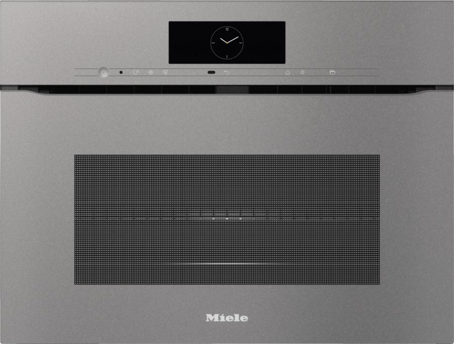 Духовой шкаф с СВЧ H7840BMX GRGR графитовый серый