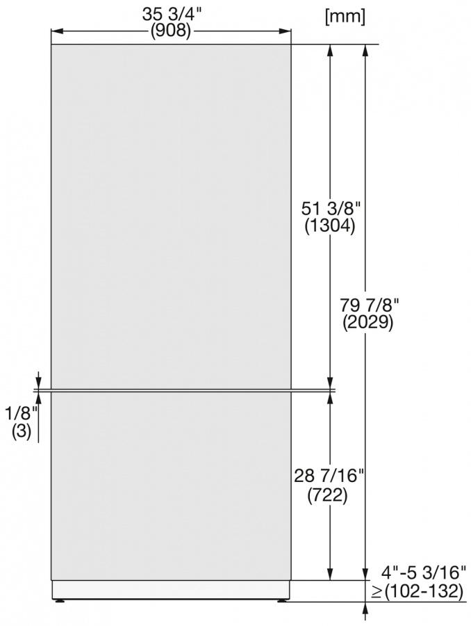 Фронтальная панель KFP 3625 ed/cs