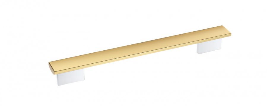 Ручка DS6000 GOLD BRWS бриллиантовый белый