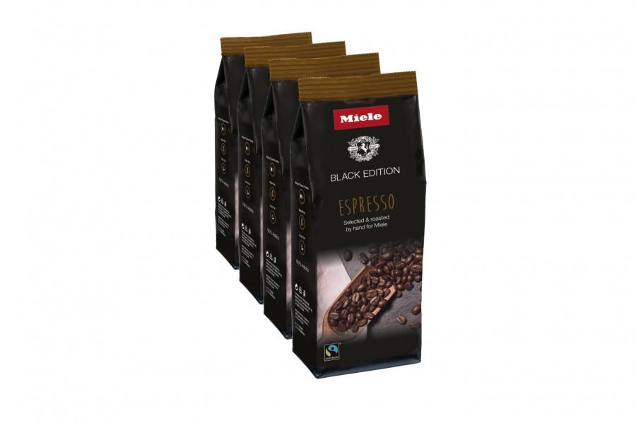 Кофе натуральный обжаренный в зернах Espresso 4×250