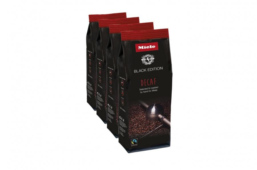 Кофе натуральный обжаренный в зернах Decaf  4 x 250 г