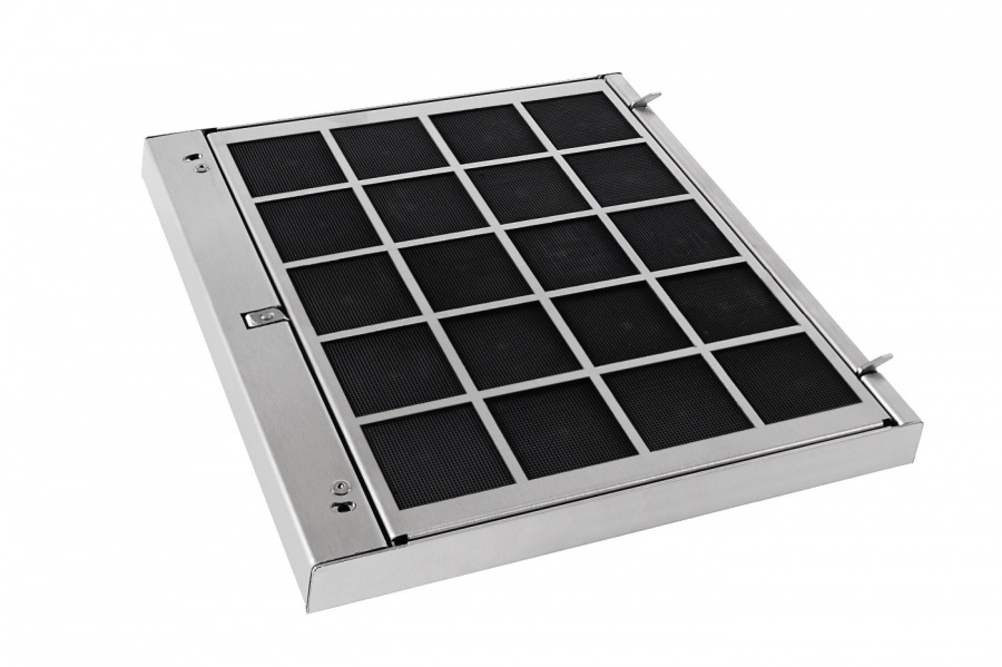 Реактивируемый угольный фильтр DKF12-R для использования во всех вытяжах Miele в режиме рециркуляции, кроме DA 14x, DA 15x, DA 18x, DA 249-4, DA 2xxx, DA 3xxx, DA 59xx W, DA 6690, DA 70×0