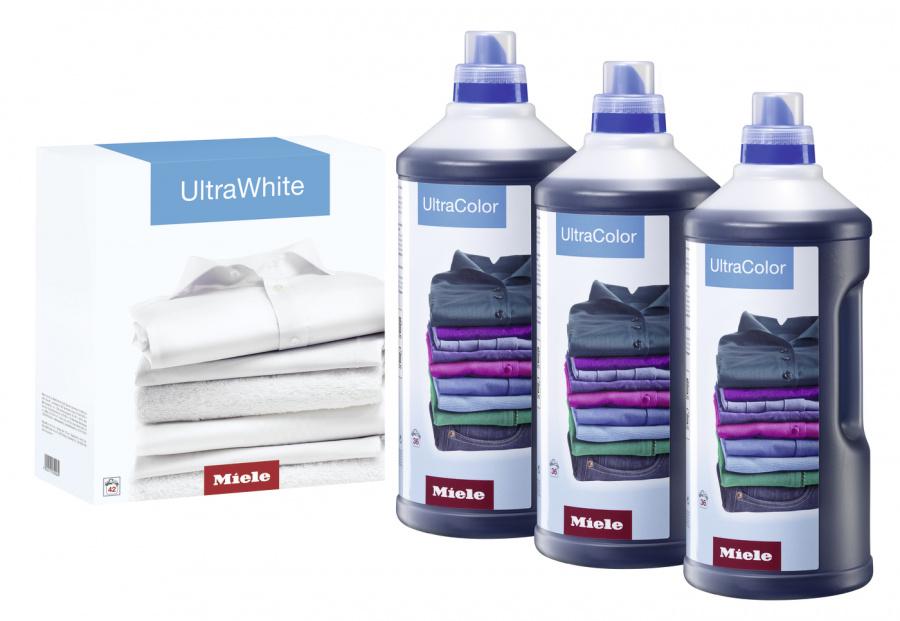 Набор моющих средств для ухода за бельём 3×UltraColor + 1×UltraWhite